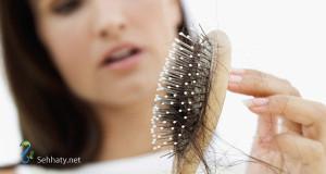 التخلص من تساقط الشعر