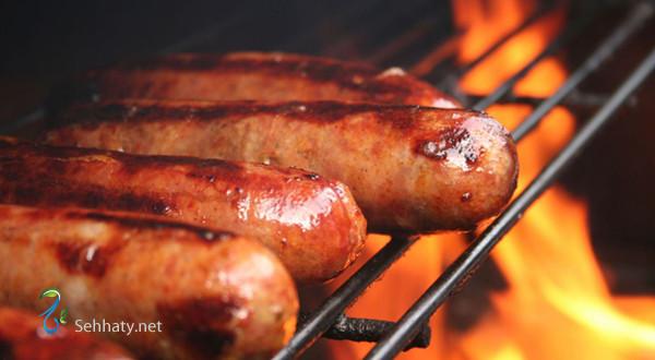 اللحوم المصنعة تسبب السرطان