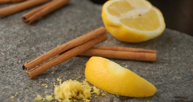 الليمون والقرفة