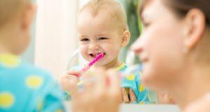 رعاية أسنان طفلك