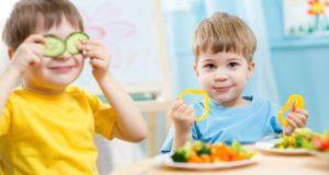 طعام صحي للأطفال